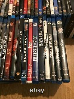 Exceptional Set Of 70 Blu Ray (including Four Steelbook)