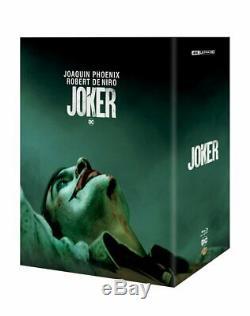 Exclusive Joker Mantalab Uhd 4k + 2d Blu-ray Steelbook Boxset Pre-order