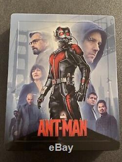 Exclusive Steelbook Blufans Lenticular Ant-man Marvel # 32