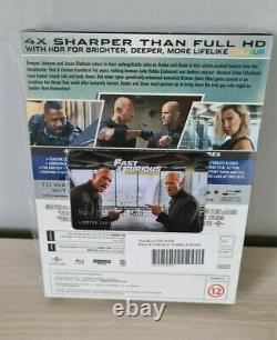 Fcc #90 Fast And Furious 1 7 Maniacs Box Steelbook Filmarena - Hobbs - Shaw