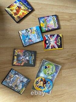 Full Season 1 / 2 / 3 DVD Pokémon + First 7 Movies Read Announce