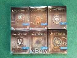 Game Of Thrones Steelbook 1-6 Seasons Bluray