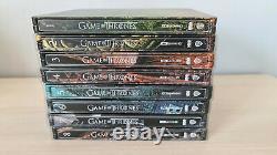 Game Of Thrones Steelbook Season 1-8 Bluray 4k