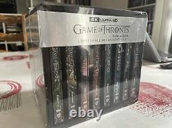 Game Of Thrones The Complete 8 Seasons 4k Ultra Hd Steelbook. New