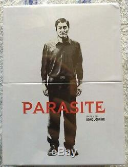 Gisaengchung Parasite Collector's Edition Steelbook 4k Blu-ray Storyboard New New