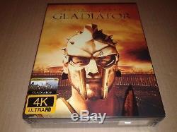 Gladiator Steelbook XL Fullslip 4k Uhd Filmarena Fac # 98 Brand New