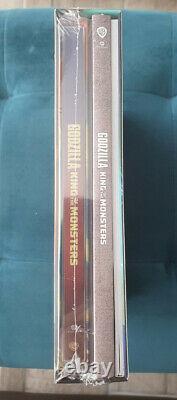 Godzilla King Of The Monsters 4k Uhd+2d Steelbook Fullslip Filmarena