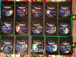 Goldorak Integral Box 15 Region 1 Dvds In French And Nine Complete