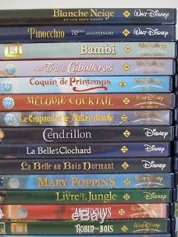 Gros Lot 82 DVD Movie / Grand Classic Walt Disney Pixar / Double Rare Numerotes