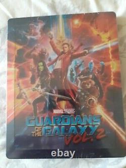 Guardians Of The Galaxy Vol. 2 Double Lenticular Fullslip Steelbook Blufans As