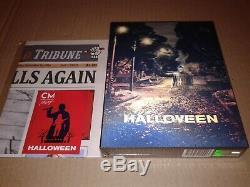 Halloween (2018) Blu-ray Lenticular Steelbook Fullslip Cinemuseum Cma # 10