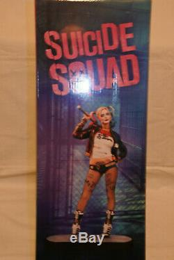 Harley Quinn Statue Sucide Squad Limited Collector's Edition Blu-ray + DVD + 3d +