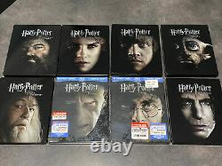 Harry Potter Bluray 8 Steelbook Future Shop Exclusive Full Set Collection