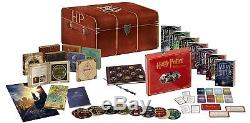 Harry Potter Full Blu-ray Box Set With Goodies, New, Blister + Gift
