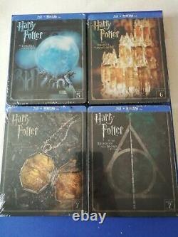 Harry Potter Steelbook 1 To 7 En, Neuf, Sous Blister