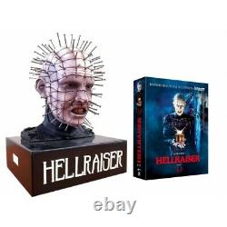Hellraiser Bust Bust Bust Pinhead Edition Collector's Box Set Trilogy Blu-ray Blu Ray