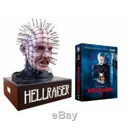 Hellraiser Pinhead Bust Bust Edition Collector's Box Trilogy Blu-ray Blu Ray