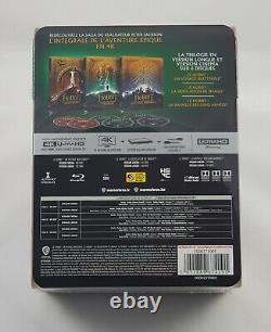 Hobbit The Trilogy Steelbook 4k Box Version French