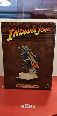 Indiana Jones On Horse Statue Limited Edition