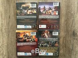 Indiana Jones Ultimate Collection 4 Blu-ray Steelbook Zavvi