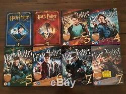 Integral Bluray DVD Harry Potter Ultimate Edition 8 Boxes Boxes Rare