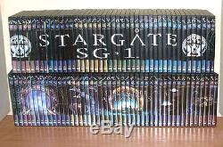 Integrale 90 Dvds Stargate Sg1 + Stargate Atlantis The Official Collection