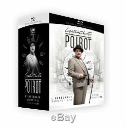 Integrale Hercule Poirot Blu-ray Box Season 1 A 13 New