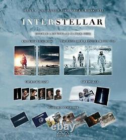 Interstellar Double Lenticular Edition Steelbook Mantalab Neuf Pre Order