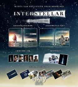 Interstellar Fullslip Edition Steelbook Mantalab New