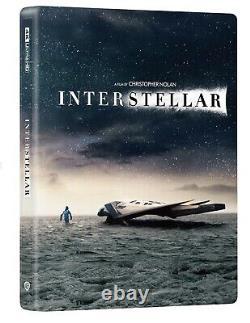 Interstellar Manta Lab Steelbook, Full Slip Edition, 4k Bluray