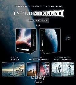 Interstellar One Click Boxset Steelbook Edition Mantalab New Precommand