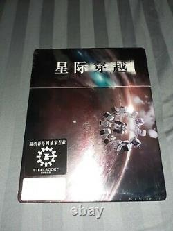 Interstellar Steelbook Hdzeta Gold Label 1/4 New Slip