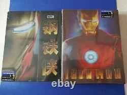 Iron Man 1 Blufans. 1/4 Slip - Lenticular. Be #20. No.0090 - No.0774, Nine
