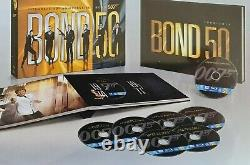 James Bond Limited Box Blue Ray Of The 50th Anniversary. Nine Under Blister