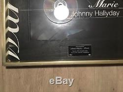 Johnny Hallyday Diamond Disk