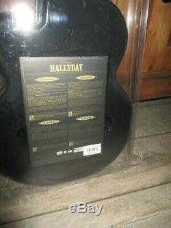 Johnny Hallyday-box Guitar 67cm & Dvd-allocated Never Open