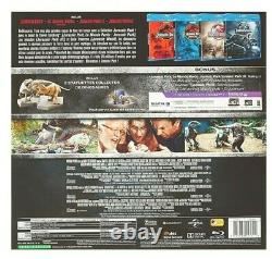 Jurassic Park Collection Set 3d Blu-ray Limited Edition Collector New