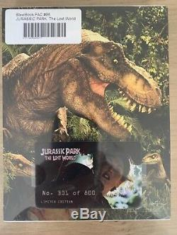 Jurassic Park The Lost World Steelbook Filmarena New Sealed