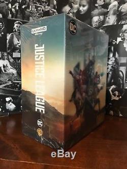 Justice League Steelbook Hdzeta Box Set One Click Low Number New