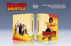 Kung Fu Hustle Uhd Club Exclusive Ec 2 Wooden Case Edition Blu Ray