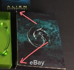 Large Bust Statue Of Alien Quadrilogy 9 Dvds 25th Anniversary Rare Collector