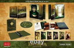 Lord Of The Rings One Click Boxset 3x Fulllslip Steelbook Edition Hdzeta New