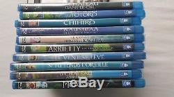 Lot 10 Blu Ray Ghibli New