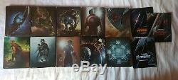 Lot 10 Blu Ray Steelbook Marvel