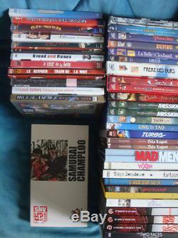 Lot 140 DVD French Films Foreign Boxes Movies And Series Disney Cinéphiles