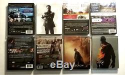 Lot 27 Blu-ray Steelbook John Wick, Riddick, Kick-ass, Mi5, World War Z