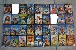 Lot 70 Disney DVD With Original Diamond And Numbered