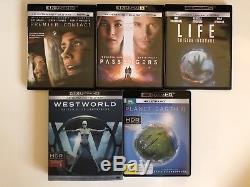 Lot Blu Ray 4k