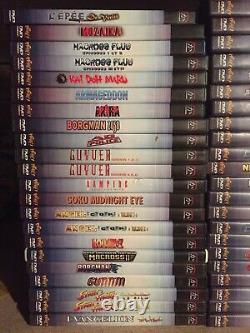 Lot DVD Manga Mania