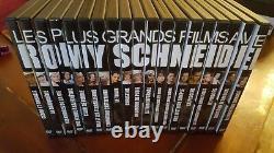 Lot De 19 DVD Les Plus Grands Films De Romy Schneider